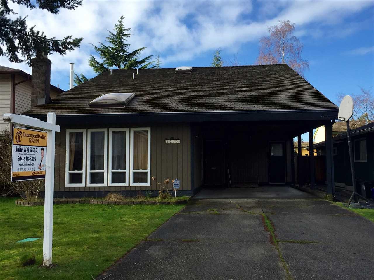"Main Photo: 4255 LANCELOT Drive in Richmond: Boyd Park House for sale in ""BOYD PARK"" : MLS®# R2032971"