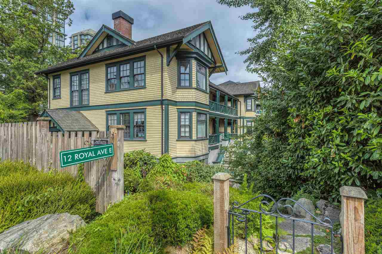 """Main Photo: 3 12 E ROYAL Avenue in New Westminster: Fraserview NW Condo for sale in """"NURSES LODGE AT VICTORIA HILL"""" : MLS®# R2105866"""