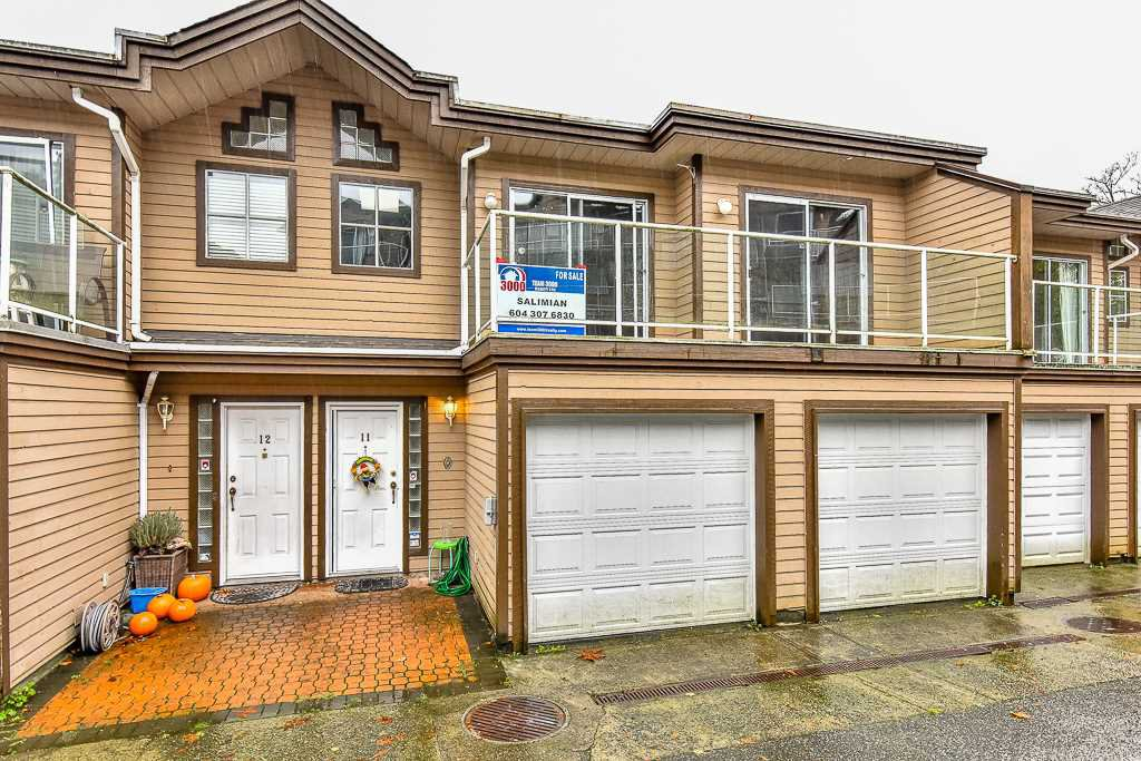 Main Photo: 11 1872 HARBOUR Street in Port Coquitlam: Citadel PQ Townhouse for sale : MLS®# R2138611