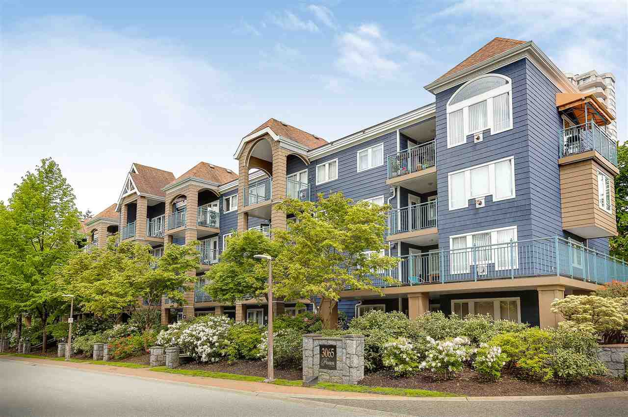Main Photo: 104 3065 PRIMROSE LANE in Coquitlam: North Coquitlam Condo for sale : MLS®# R2169506