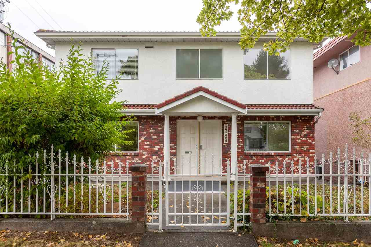 Main Photo: 5389 TAUNTON Street in Vancouver: Collingwood VE House for sale (Vancouver East)  : MLS®# R2210784