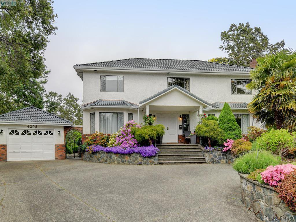 Main Photo: 4295 Oakfield Cres in VICTORIA: SE Lake Hill Single Family Detached for sale (Saanich East)  : MLS®# 815763