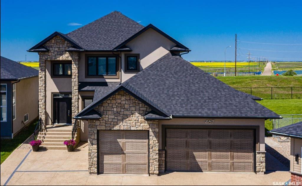 Main Photo: 467 Mahabir Crescent in Saskatoon: Evergreen Residential for sale : MLS®# SK800397