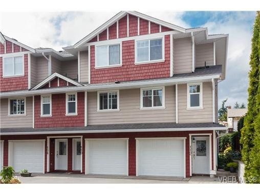 Main Photo: 112 2766 Peatt Rd in VICTORIA: La Langford Proper Row/Townhouse for sale (Langford)  : MLS®# 689657