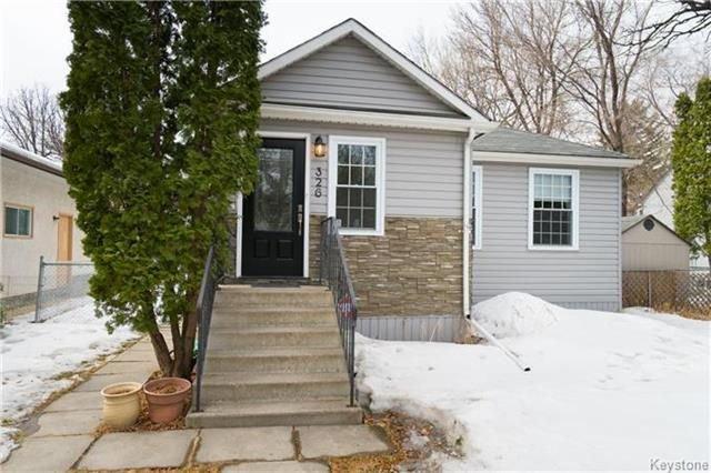Main Photo: 326 Mandeville Street in Winnipeg: Deer Lodge Residential for sale (5E)  : MLS®# 1802817