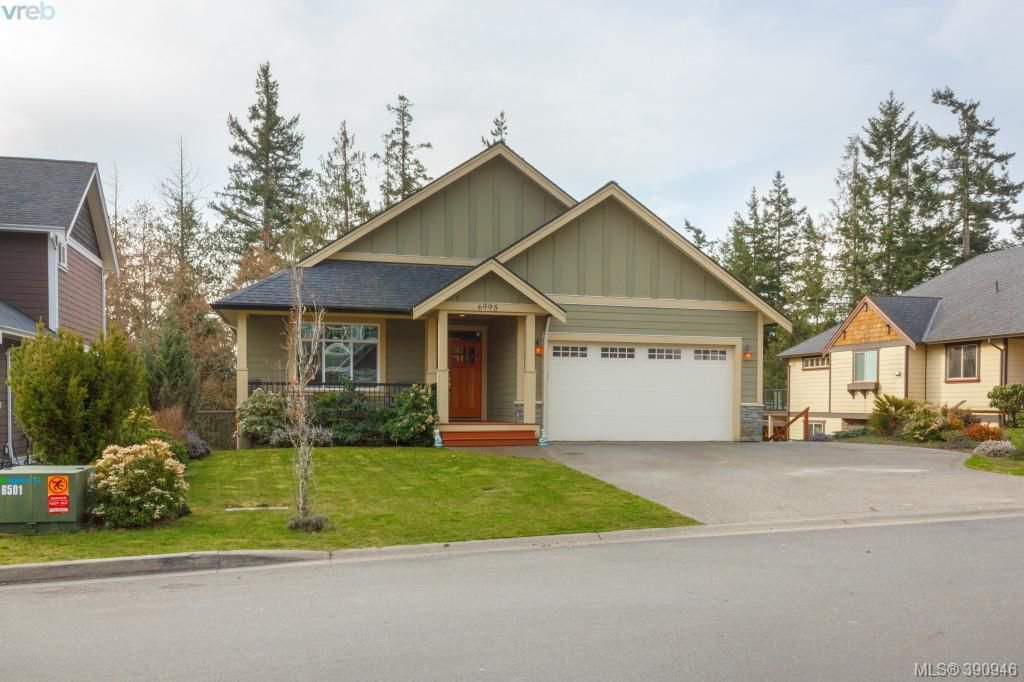 Main Photo: 6995 Brailsford Place in SOOKE: Sk Broomhill Single Family Detached for sale (Sooke)  : MLS®# 390946