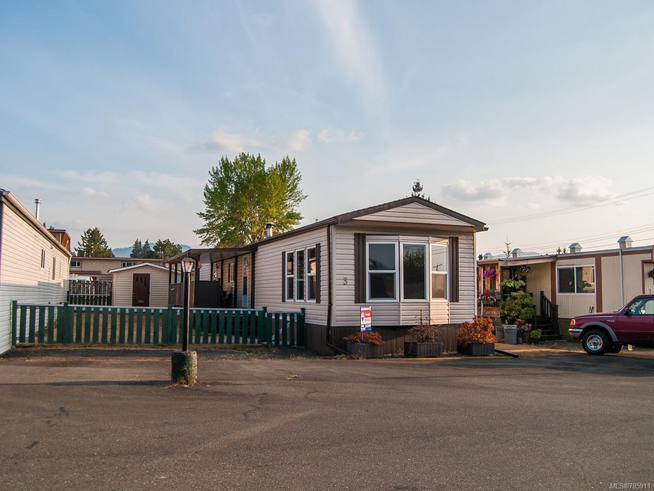 Main Photo: 3 3859 Wood Ave in PORT ALBERNI: PA Port Alberni Manufactured Home for sale (Port Alberni)  : MLS®# 795911