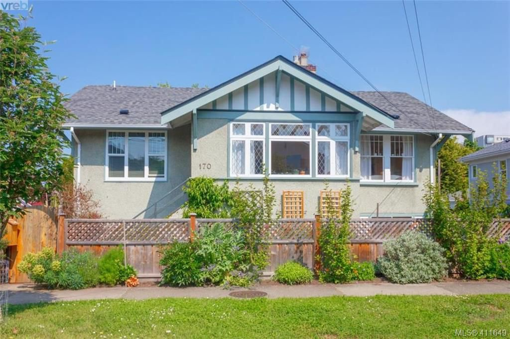 Main Photo: 170 Bushby Street in VICTORIA: Vi Fairfield West Single Family Detached for sale (Victoria)  : MLS®# 411649