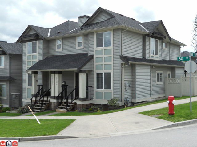 "Main Photo: 16506 60TH Avenue in Surrey: Cloverdale BC House 1/2 Duplex for sale in ""CONCERTO"" (Cloverdale)  : MLS®# F1113657"
