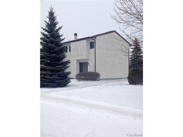 Main Photo: 60 Dalhousie Drive in WINNIPEG: Fort Garry / Whyte Ridge / St Norbert Condominium for sale (South Winnipeg)  : MLS®# 1429396