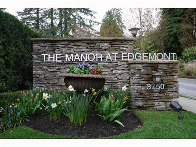 Main Photo: 202 3750 EDGEMONT BV in North Vancouver: Home for sale : MLS®# V1065632