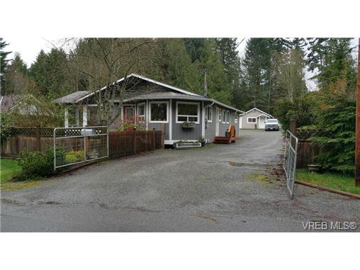 Main Photo: 688 Bay Road in MILL BAY: ML Mill Bay Single Family Detached for sale (Malahat & Area)  : MLS®# 361186