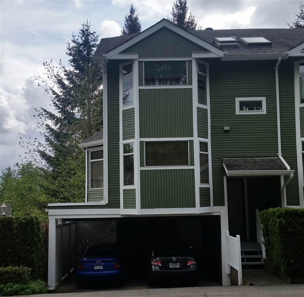 """Main Photo: 8640 CINNAMON Drive in Burnaby: Forest Hills BN Townhouse for sale in """"MOUNTAINSIDE VILLAGE"""" (Burnaby North)  : MLS®# R2063435"""