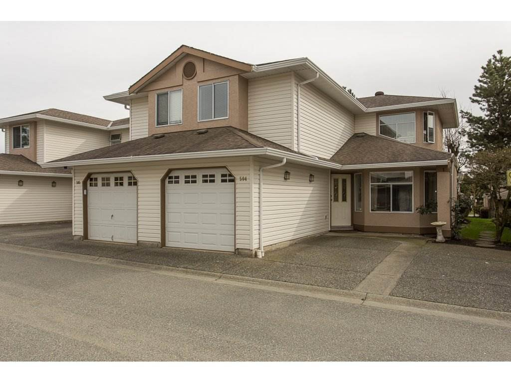 "Main Photo: 504 8260 162A Street in Surrey: Fleetwood Tynehead Townhouse for sale in ""FLEETWOOD MEADOWS"" : MLS®# R2147912"