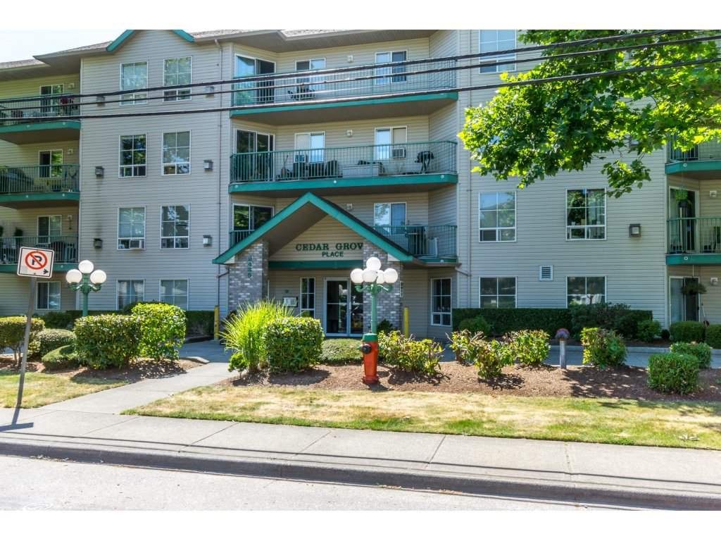 """Main Photo: 110 2435 CENTER Street in Abbotsford: Abbotsford West Condo for sale in """"Cedar Grove Place"""" : MLS®# R2186088"""