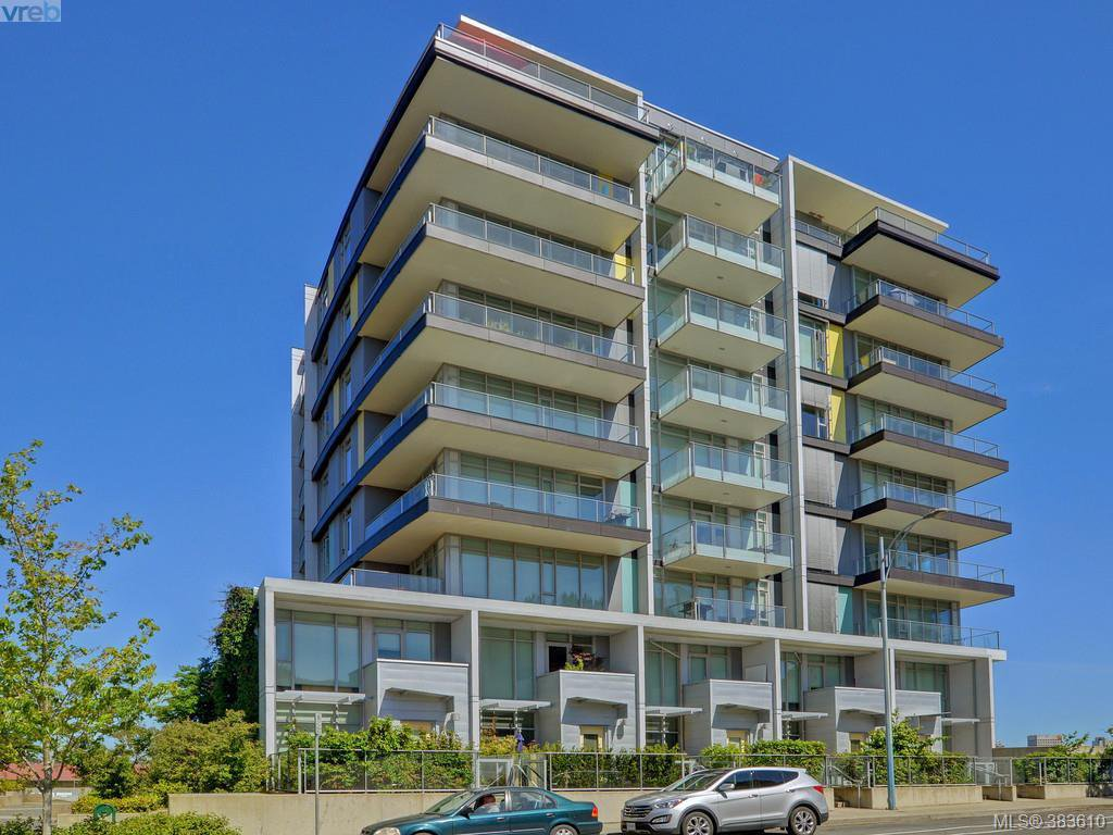 Main Photo: 609 373 Tyee Road in VICTORIA: VW Victoria West Condo Apartment for sale (Victoria West)  : MLS®# 383610