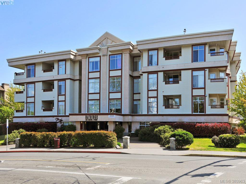 Main Photo: 404 2511 Quadra St in VICTORIA: Vi Hillside Condo Apartment for sale (Victoria)  : MLS®# 775575