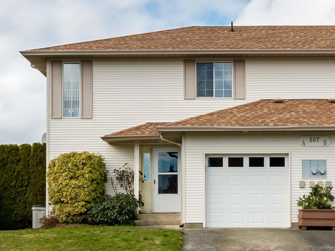 Main Photo: A 607 Bunting Pl in COMOX: CV Comox (Town of) Half Duplex for sale (Comox Valley)  : MLS®# 780090