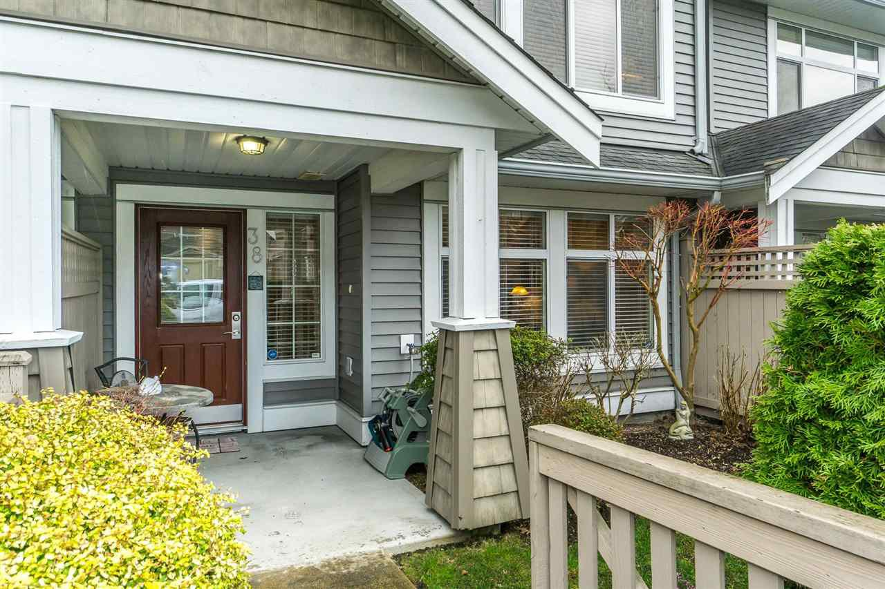 "Main Photo: 38 19330 69 Avenue in Surrey: Clayton Townhouse for sale in ""MONTEBELLO"" (Cloverdale)  : MLS®# R2248047"