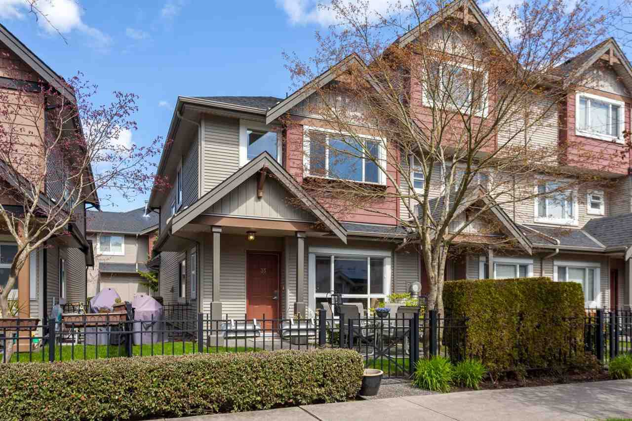 "Main Photo: 35 7733 HEATHER Street in Richmond: McLennan North Townhouse for sale in ""HEARTHSTONE"" : MLS®# R2258011"