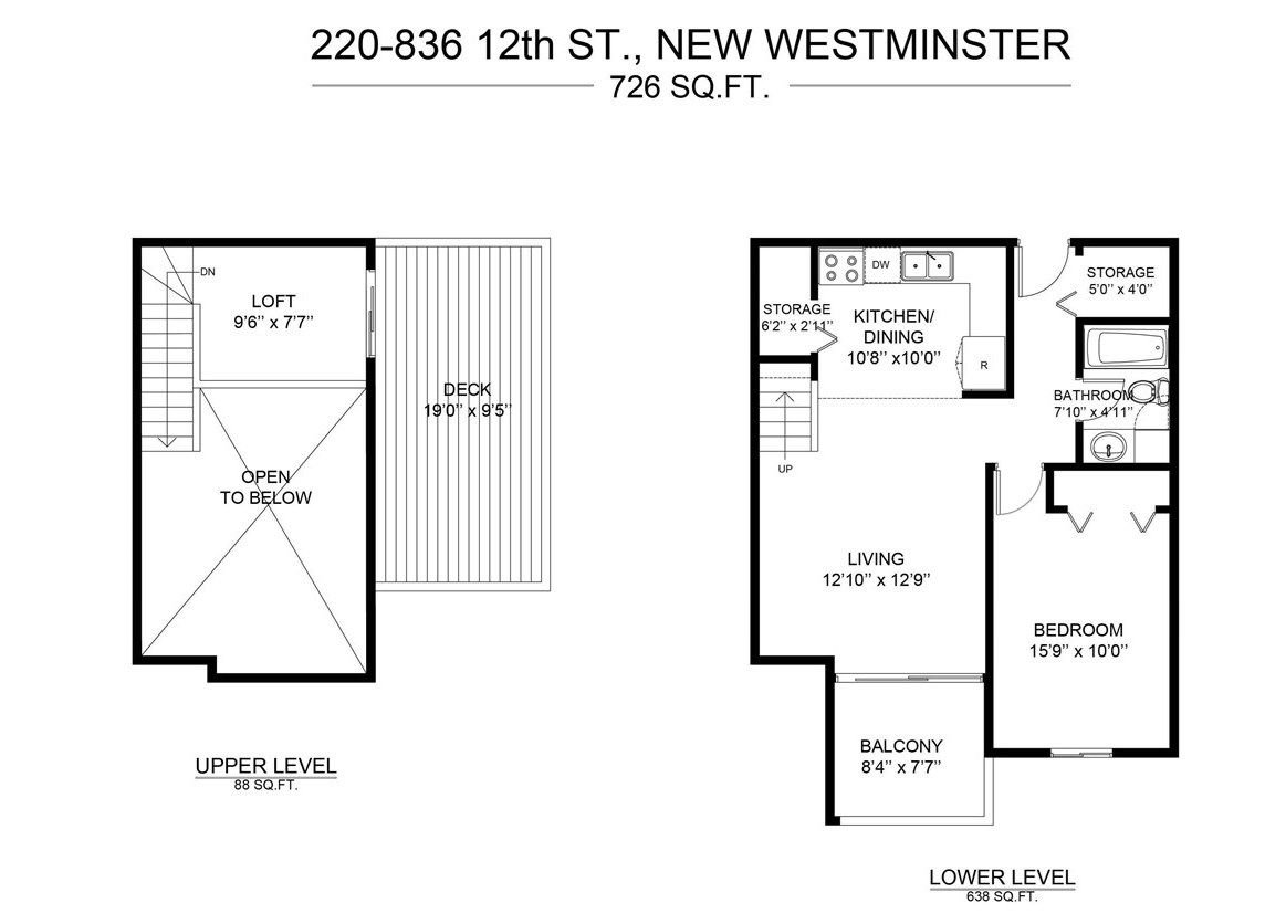 "Photo 14: Photos: 202 836 TWELFTH Street in New Westminster: West End NW Condo for sale in ""London Place"" : MLS®# R2289709"