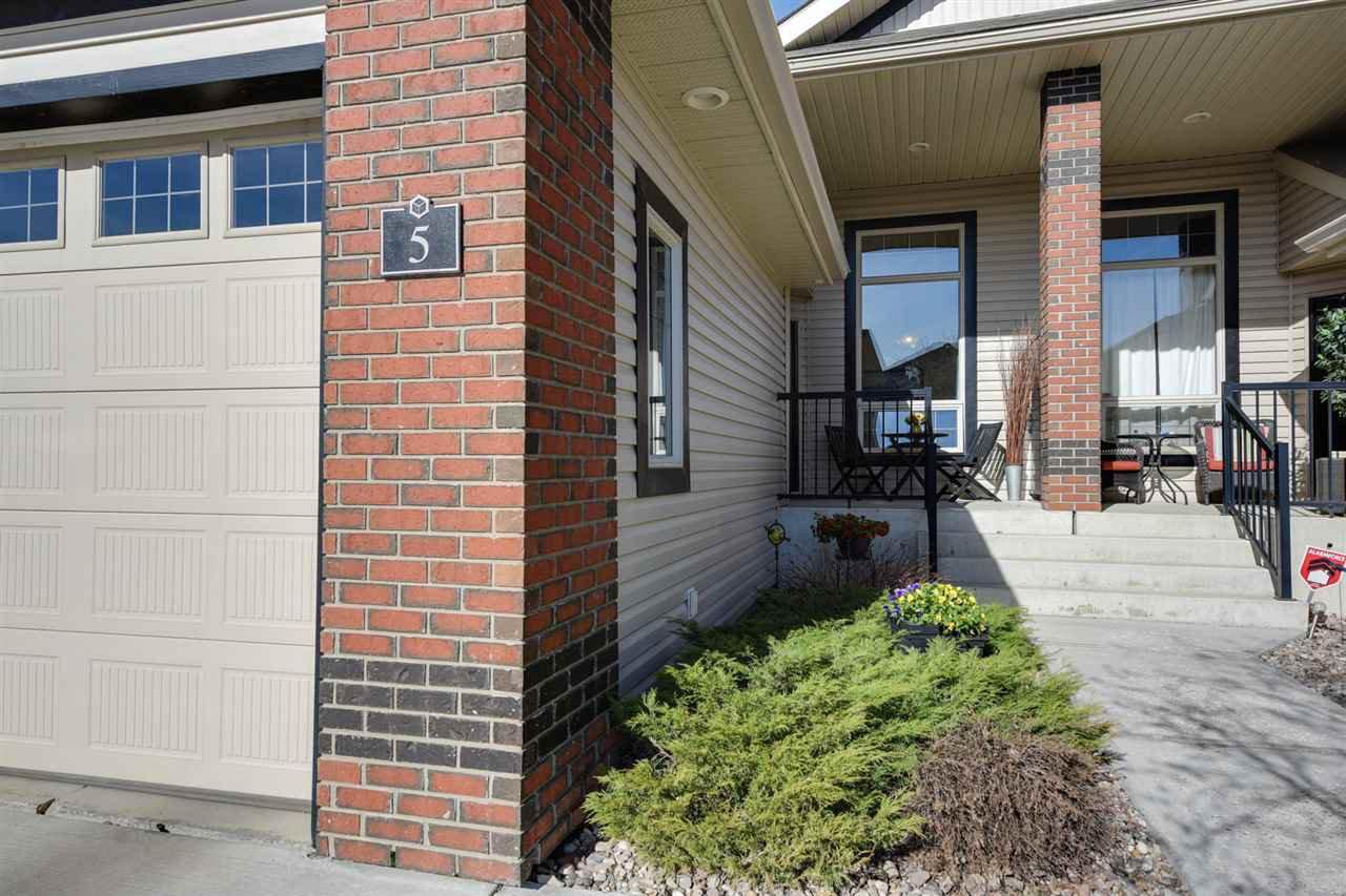 Main Photo: 5 841 156 Street in Edmonton: Zone 14 House Half Duplex for sale : MLS®# E4163761
