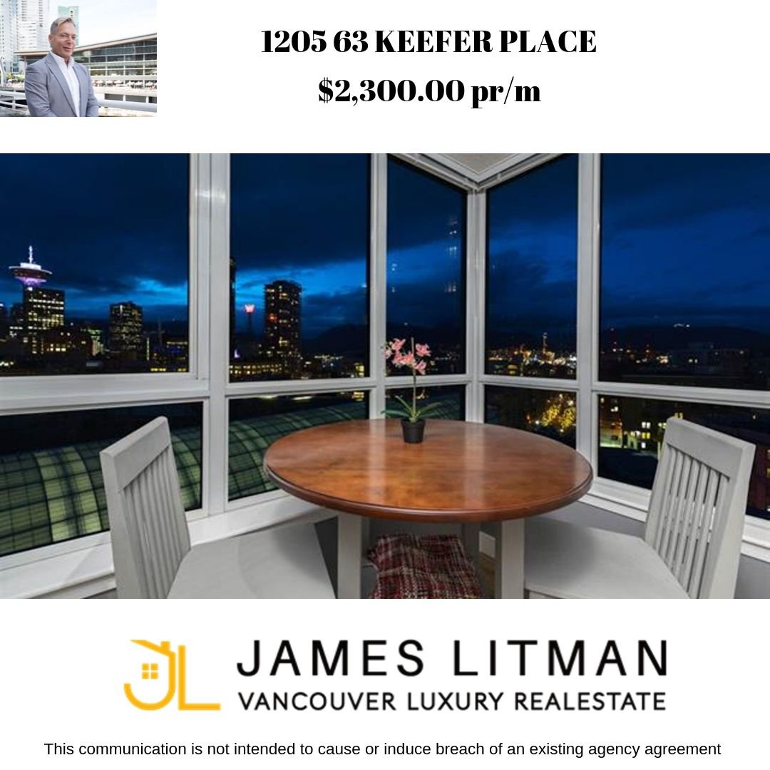 Main Photo: 1205 63 Keefer Place in Vancouver: Condo for sale