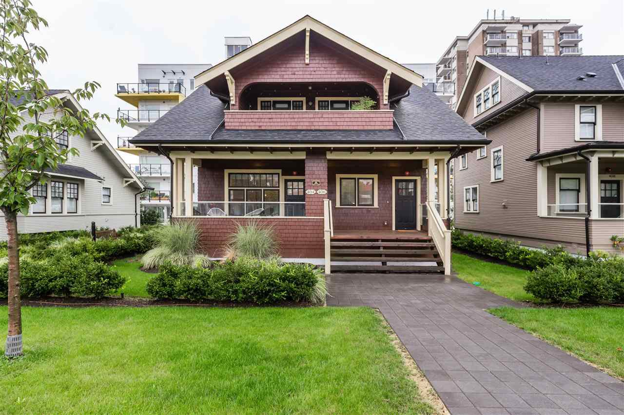 Main Photo: 404 EIGHTH Street in New Westminster: Uptown NW Townhouse for sale : MLS®# R2428299