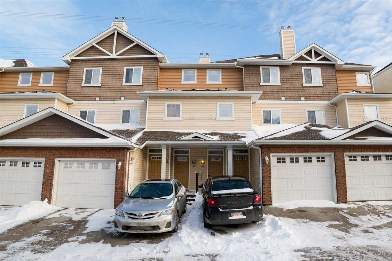 Main Photo: 52 3010 33 Avenue in Edmonton: Zone 30 Townhouse for sale : MLS®# E4188488