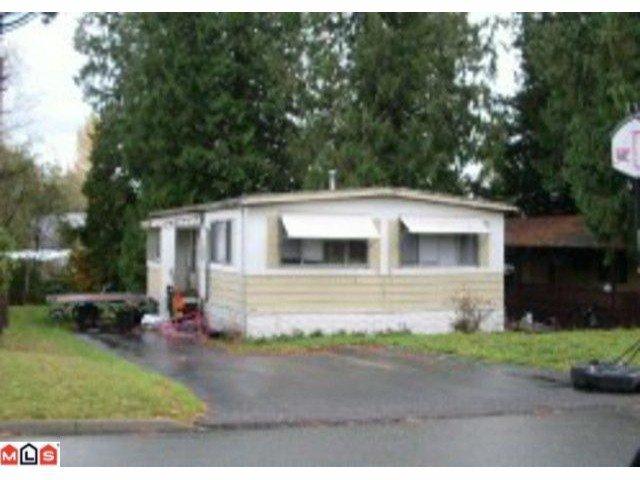 Main Photo: 2170 OAKRIDGE in Abbotsford: Poplar Manufactured Home for sale : MLS®# F1121633