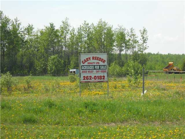 Main Photo: # LOT 6 SAWYER RD in Fort St. John: Fort St. John - Rural W 100th Land for sale (Fort St. John (Zone 60))  : MLS®# N233107