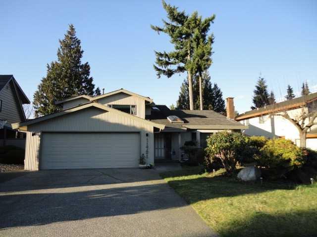 Main Photo: 11731 HYLAND DR in Delta: Sunshine Hills Woods House for sale (N. Delta)  : MLS®# F1306656