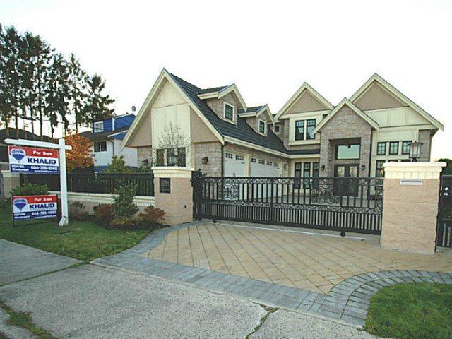 """Main Photo: 8591 CALDER Road in Richmond: Lackner House for sale in """"LACKNER SUBDIVISION"""" : MLS®# V1032331"""