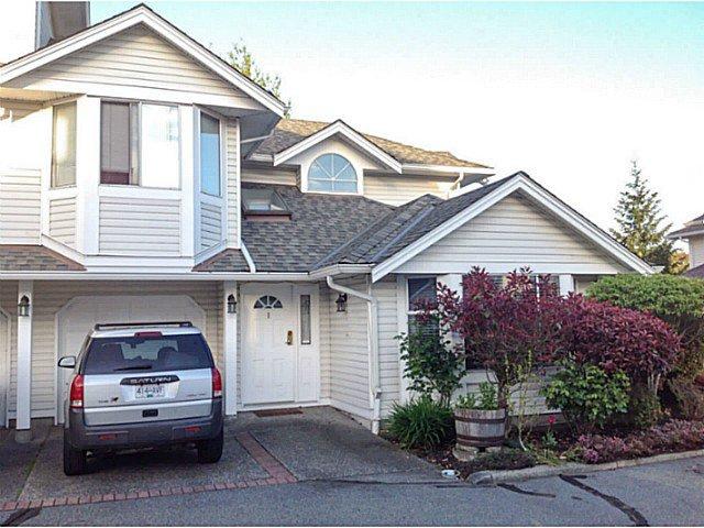 "Main Photo: 1 7955 122ND Street in Surrey: West Newton Townhouse for sale in ""SCOTTSDALE VILLAGE"" : MLS®# F1411996"