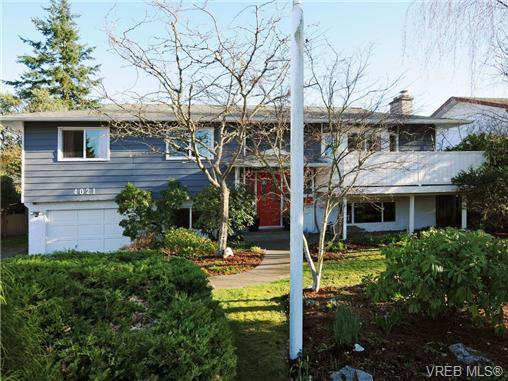 Main Photo: 4021 Hessington Place in VICTORIA: SE Arbutus Single Family Detached for sale (Saanich East)  : MLS®# 347204