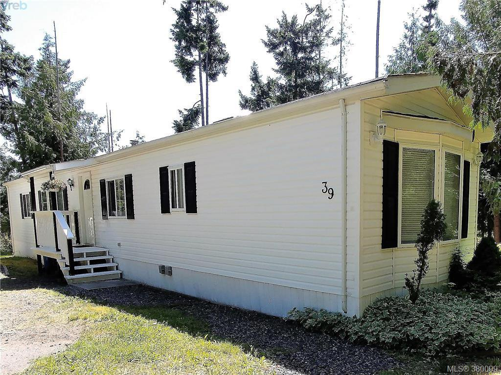 Main Photo: A39 920 Whittaker Rd in MALAHAT: ML Malahat Proper Manufactured Home for sale (Malahat & Area)  : MLS®# 763533