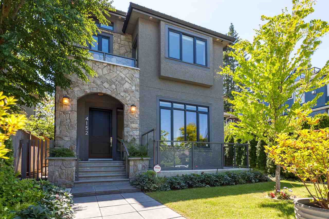 Main Photo: 4152 W 11TH Avenue in Vancouver: Point Grey House for sale (Vancouver West)  : MLS®# R2203578