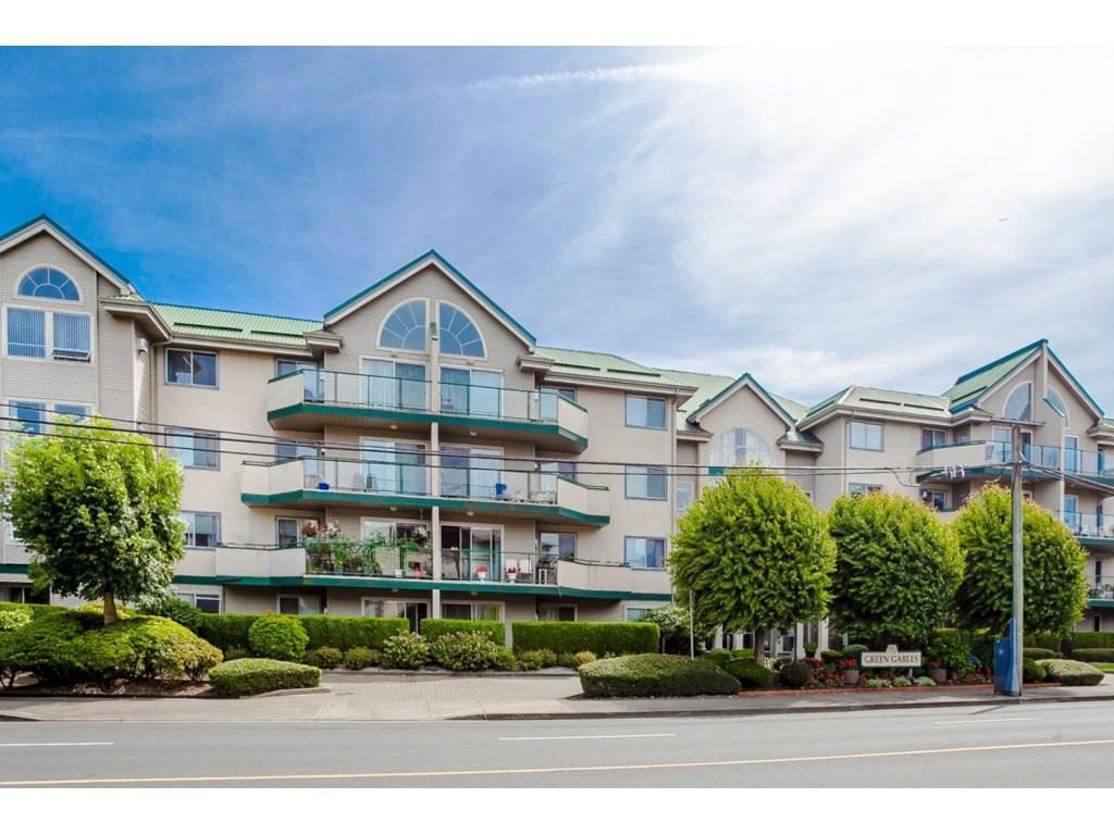 "Main Photo: 305 32044 OLD YALE Road in Abbotsford: Abbotsford West Condo for sale in ""Green Gables"" : MLS®# R2211381"