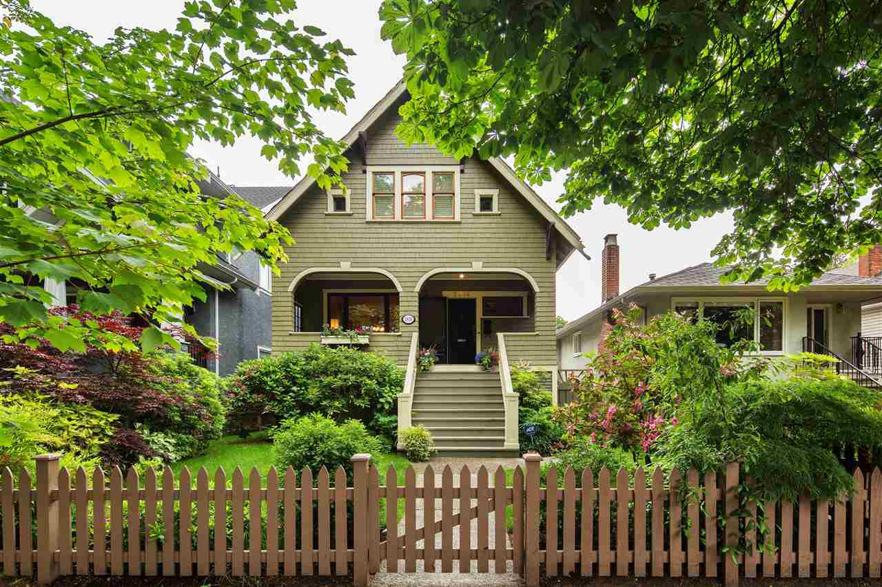 Main Photo: 2836 W 12TH Avenue in Vancouver: Kitsilano House for sale (Vancouver West)  : MLS®# R2278621