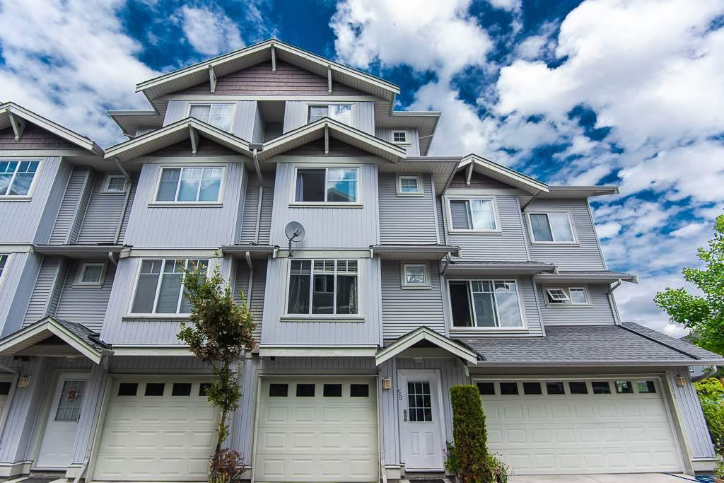 "Main Photo: 58 12040 68 Avenue in Surrey: West Newton Townhouse for sale in ""Terrane"" : MLS®# R2450050"