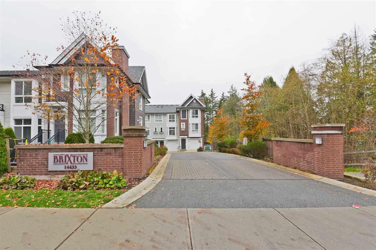 "Main Photo: 79 14433 60 Avenue in Surrey: Sullivan Station Townhouse for sale in ""BRIXTONE"" : MLS®# R2524154"