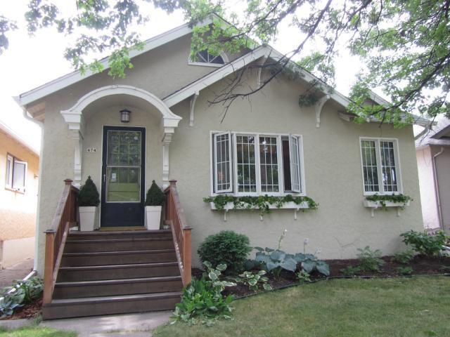 Main Photo: 474 Oxford Street in WINNIPEG: River Heights / Tuxedo / Linden Woods Residential for sale (South Winnipeg)  : MLS®# 1115256