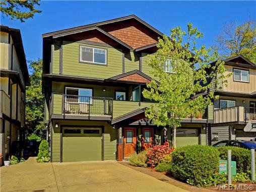 Main Photo: 3358 Radiant Way in VICTORIA: La Happy Valley Strata Duplex Unit for sale (Langford)  : MLS®# 368702