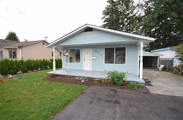 Main Photo: 8870 EDWARD Street in Chilliwack: Chilliwack W Young-Well House for sale : MLS®# R2168979