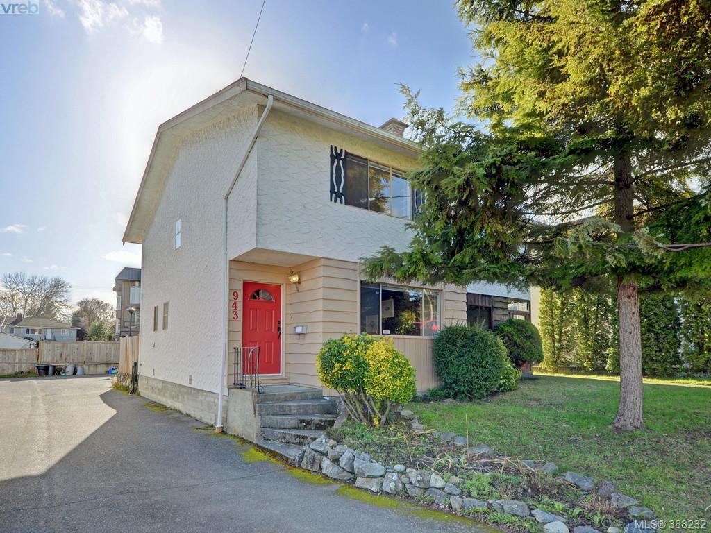 Main Photo: 943 Inskip St in VICTORIA: Es Kinsmen Park Half Duplex for sale (Esquimalt)  : MLS®# 780185