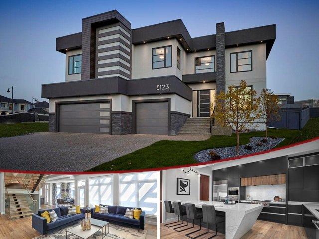 Main Photo: 5123 WOOLSEY Link in Edmonton: Zone 56 House for sale : MLS®# E4133050