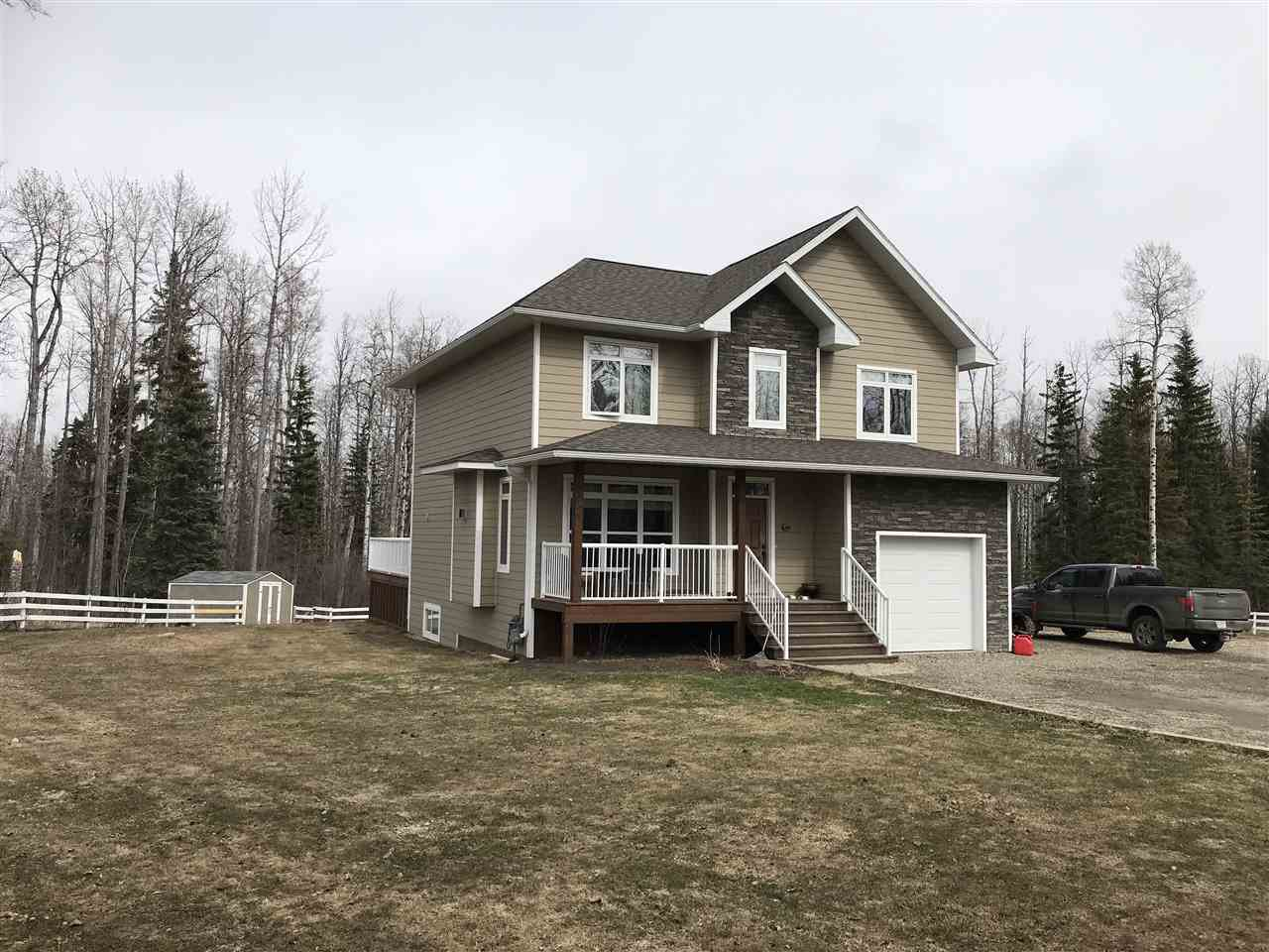 Photo 1: Photos: 13559 281 Road in Charlie Lake: Lakeshore House for sale (Fort St. John (Zone 60))  : MLS®# R2365322