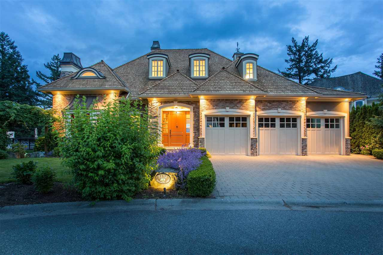 La belle chateau! Impressive French Provencal inspired home of almost 6500 sf