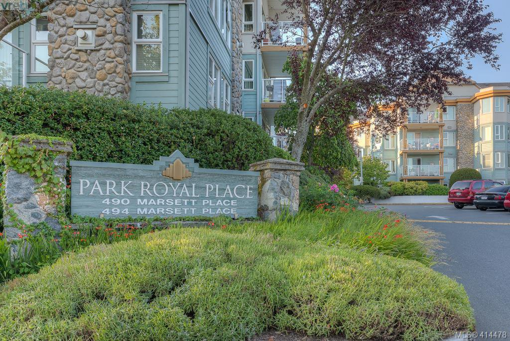 Main Photo: 309 490 Marsett Place in VICTORIA: SW Royal Oak Condo Apartment for sale (Saanich West)  : MLS®# 414478