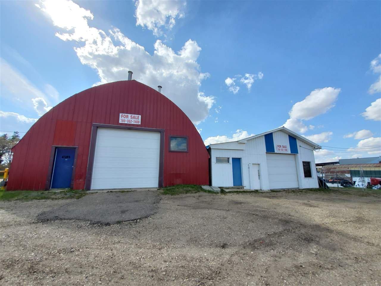 Main Photo: 4502 57 Street: Wetaskiwin Industrial for sale : MLS®# E4190211